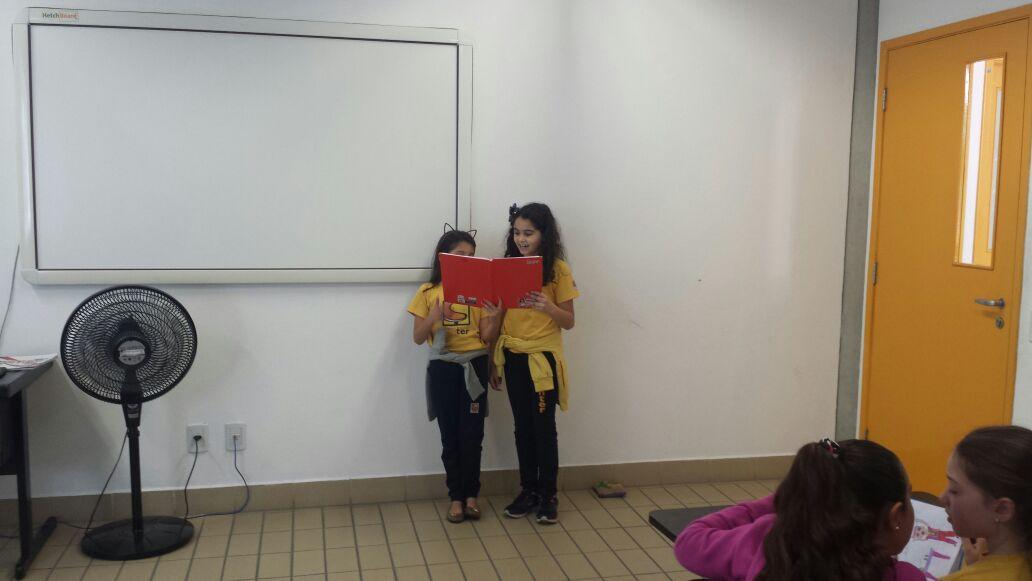 Confiram as imagens das atividades desenvolvidas no 3° trimestre pelos alunos do 4° ano A e B do Colégio Santer.
