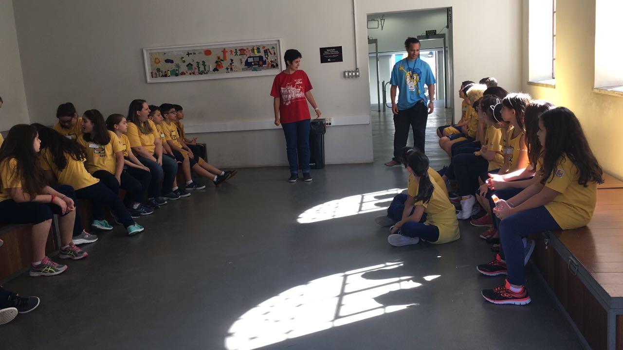 Veja as descobertas que os alunos do 5° ano fizeram no Museu da Imigração.