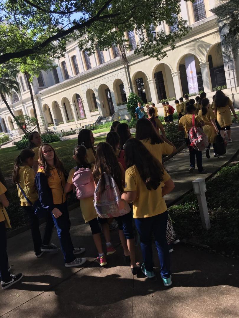 ESTUDO DO MEIO - MUSEU DA IMIGRAÇÃO