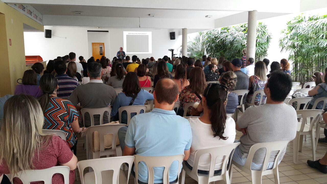 Veja algumas momentos que marcaram o 1° Encontro de Pais, que contou coma participação do Prof° Ricardo Galhardo Blanco.