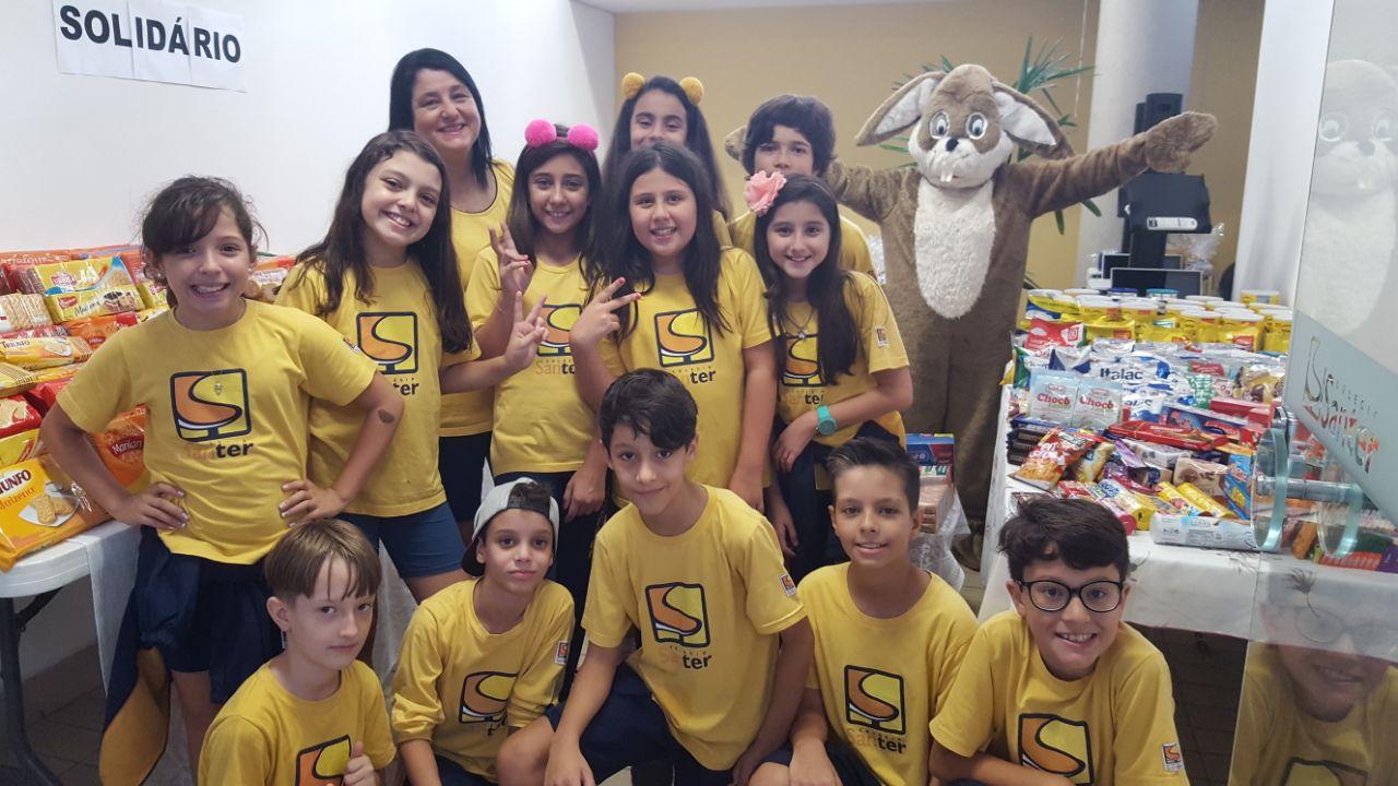 Campanha Santer Solidário