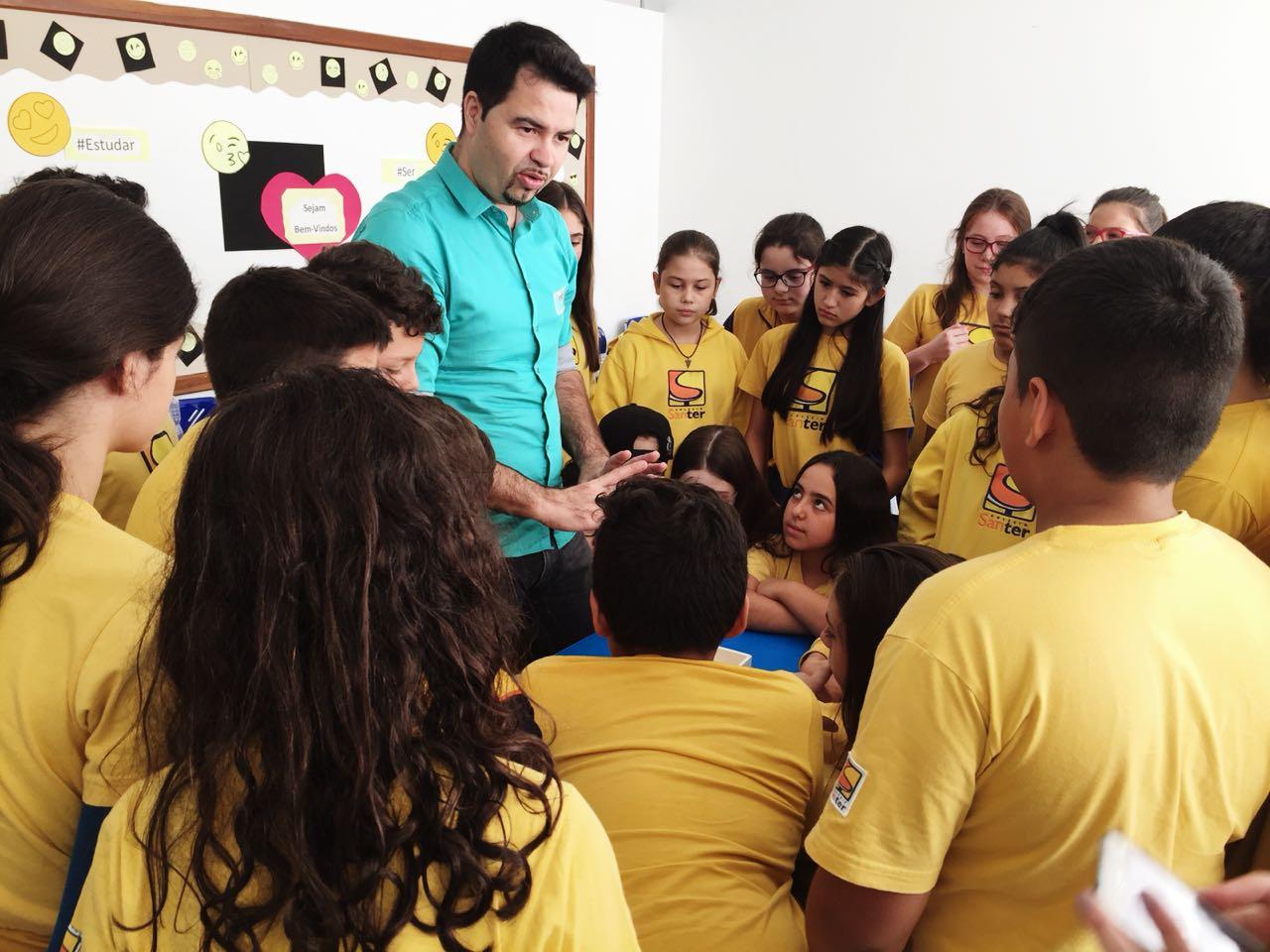 Confira as primeiras etapas do Projeto Energia Solar desenvolvido pelos alunos do 6° ano com a equipe do Engilab.